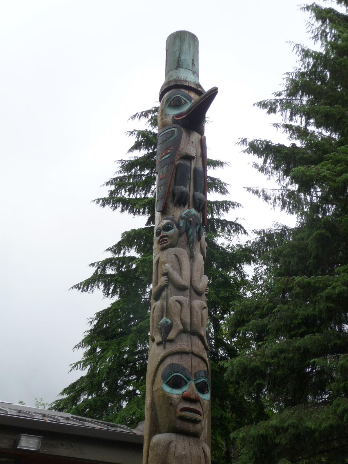 Artsourced totem poles and other alaskan art part