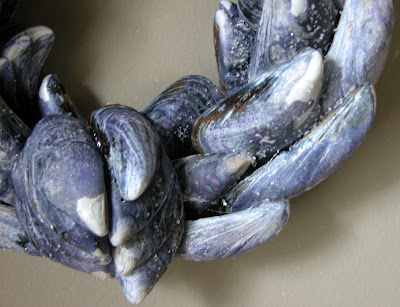how to clean mussel shells