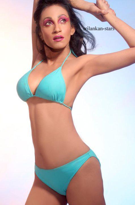 Srilankan bikini model Ridhima Hot Images