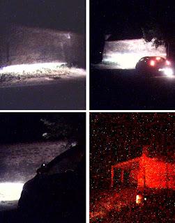 Fotografias de móvil sin flash de la noche de autos