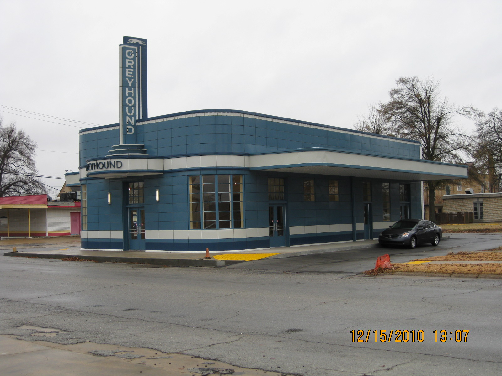 Blytheville, Arkansas: Greyhound Bus Station