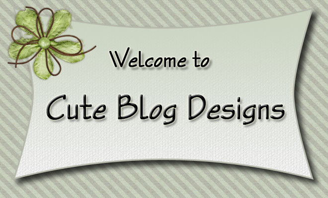 Cute Blog Designs