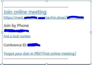 how to use live meeting