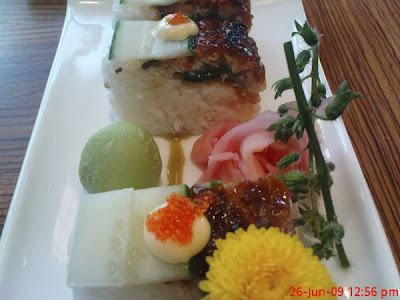 Eel and Cucumber