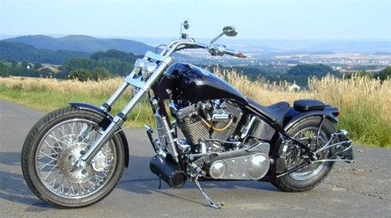 Super Motos: harley davidson chopper