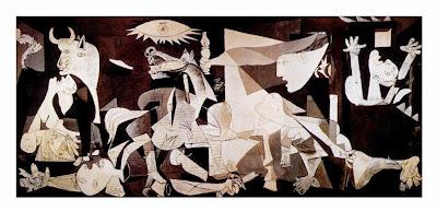 o massacre nazista segundo Picasso