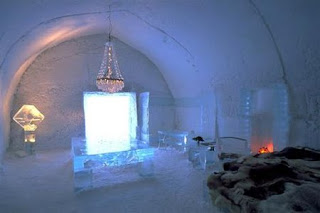 Hidup ala orang Eskimo di ICEHOTEL, Jukkasjarvi, Swedia - www.jurukunci.net