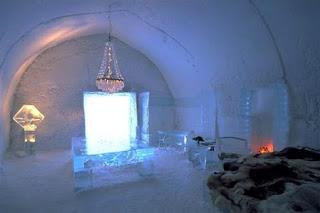 Hidup ala orang Eskimo di ICEHOTEL, Jukkasjarvi, Swedia - www.jurukunci.net