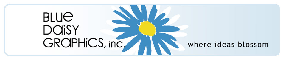 Blue Daisy Graphics