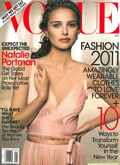 Another Natalie Portman cover for the same month maybe it's because of her