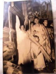 Eu em 1959 na Matriz como Isaac na semana santa
