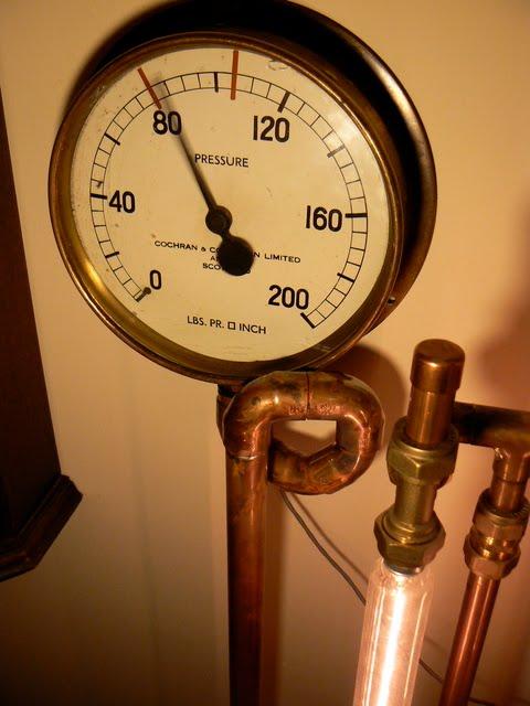 Steampunk by dreamsteam steam brass and fzz inventions galore by professor fzz - Steampunk pressure gauge ...