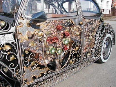 Steampunk By Dreamsteam Neo Victorian Vw Beetle And