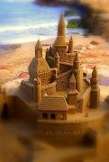 Mi castillo de arena.