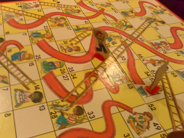 of Chutes and Ladders.