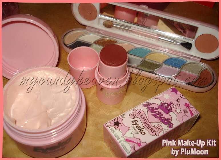 How To Do Cute Makeup. Cute Pink Make-up kit!