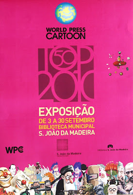 Cartaz com imagem do catálogo 2010 e informação da data da exposição