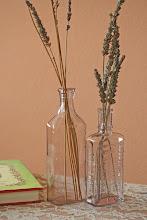 Vintage Lavendar Bottles