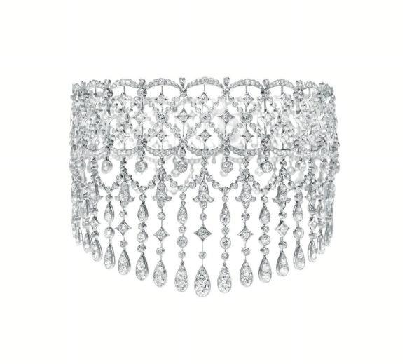Jewelry of the day boucheron belle epoque diamond choker impulse