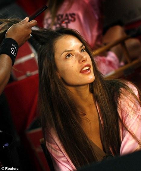 adriana lima hair up. Adriana Lima, Chanel Iman,
