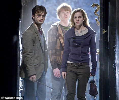 Back to school: Emma will re-shoot scenes with co-stars Daniel Radcliffe and