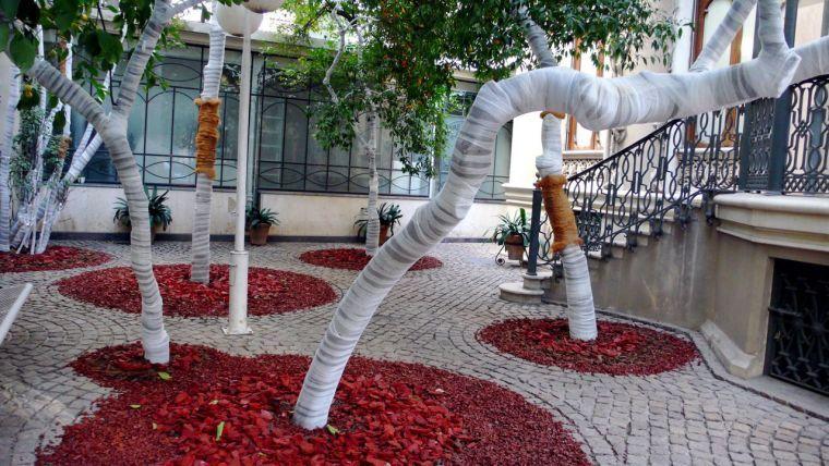 El patio del colegio de arquitectos de c rdoba - Colegio de arquitectos de cordoba ...