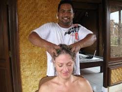 """A Balinese """"Cream Bath"""""""