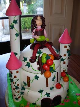 bolo de aniversario de menina