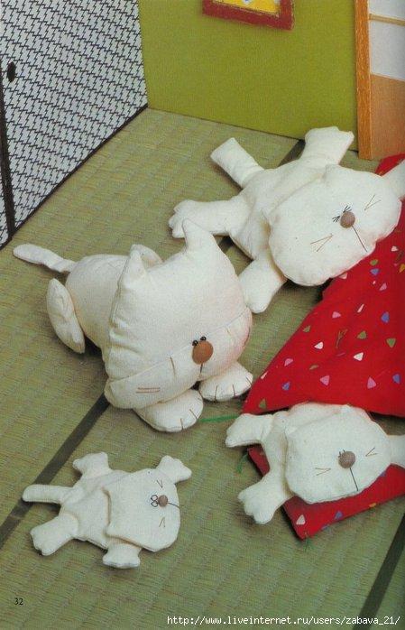 Шитые куклы мастер класс
