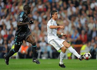 Cristiano Ronaldo at Real Madrid Wallpaper