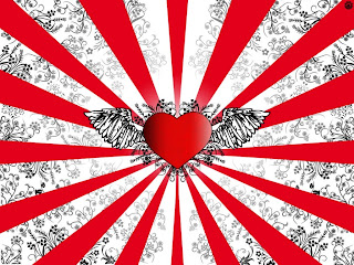 valentine Wings Heart wallpaper and photo