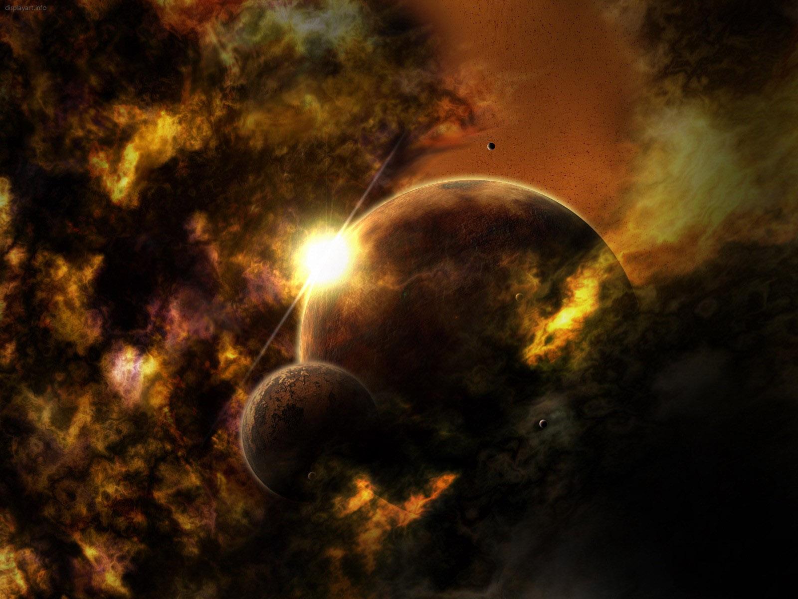 Fantasy Space Wallpaper