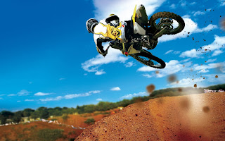 Bike Jump wallpaper