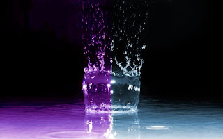 3D Water Splash wallpaper