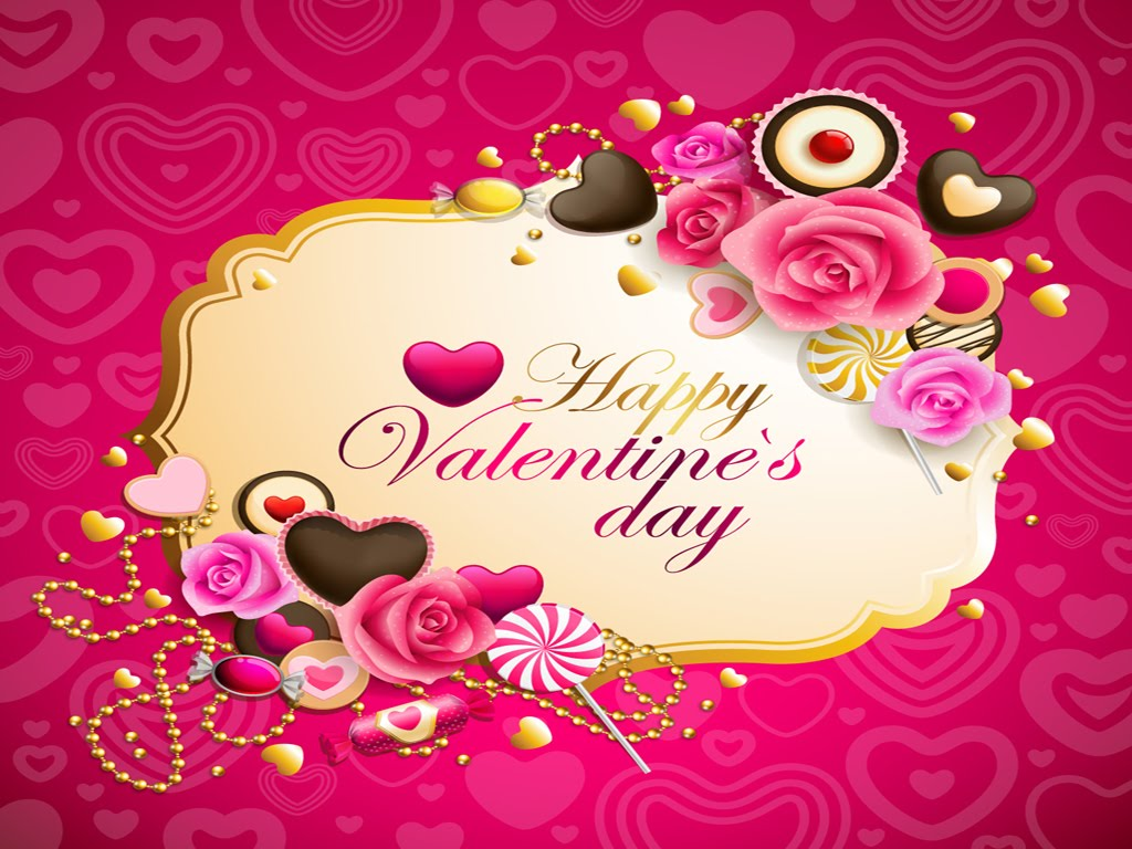 Happy Valentine%25252527s Day wallpaper According to skin doctors, the skin of a mature woman recovers five times ...