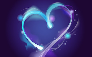 Abstract Heart wallpaper