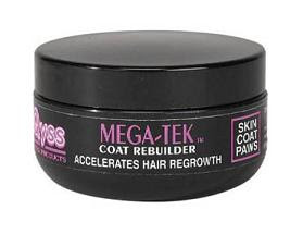 how to use mega tek rebuilder on human hair