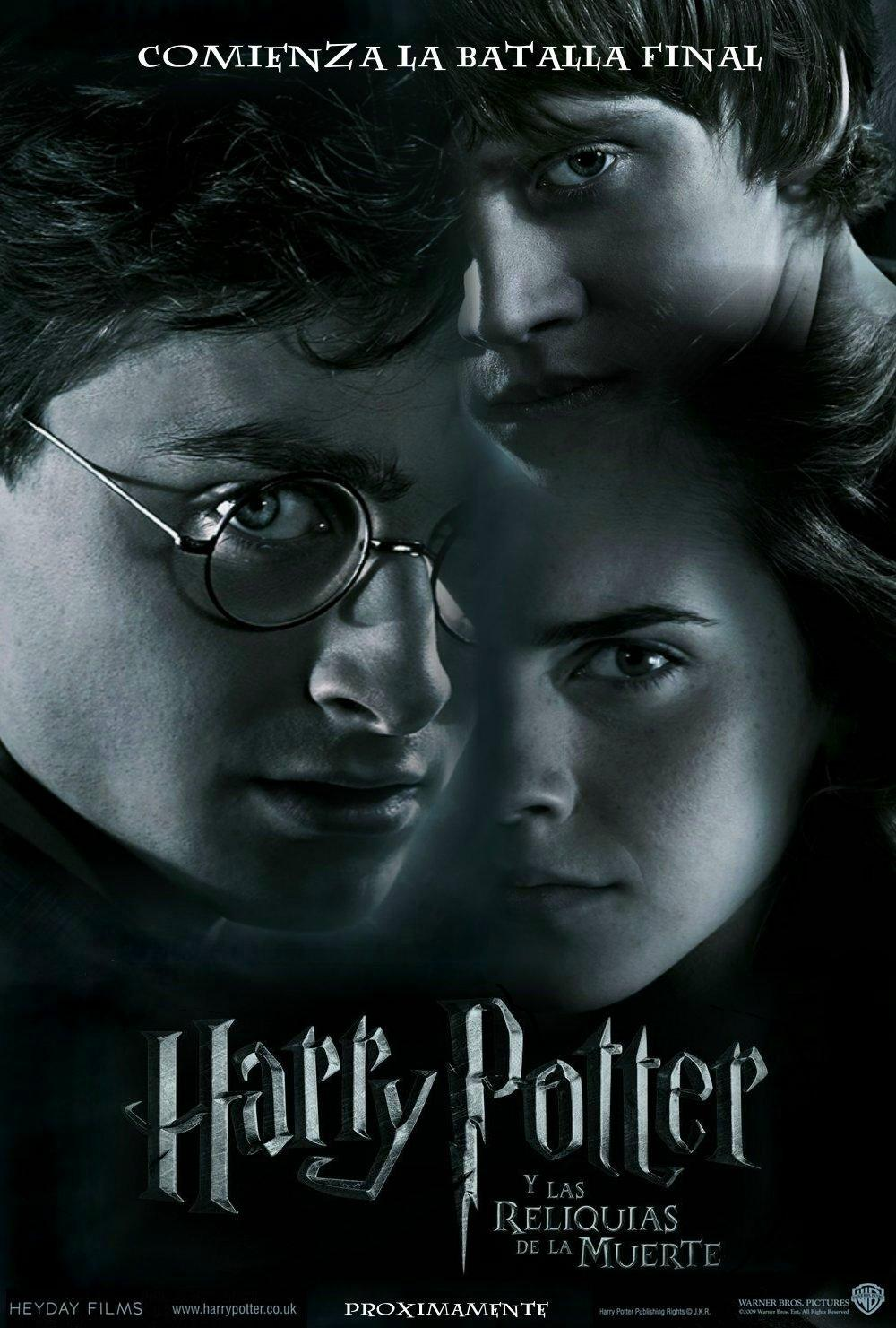 Harry Potter y las Reliquias de la Muerte / Harry Potter 7 parte 1 (2010)