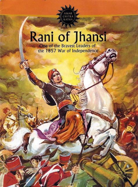 jhansi ki rani. Jhansi Ki Rani Comic Series