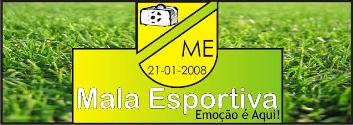 Mala Esportiva - Emoção é Aqui!