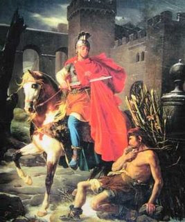 Catholic Fire: Feast of St. Martin of Tours, Patron Saint of Soldiers