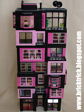 BRICK TRICK DESIGN: PINK CONDO TOWER