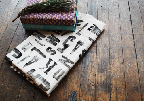 diy with bookhou: fabric gift wrapping
