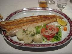 Segundos platos: huevos, pescados, mariscos