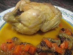 Segundos platos: aves, carnes...