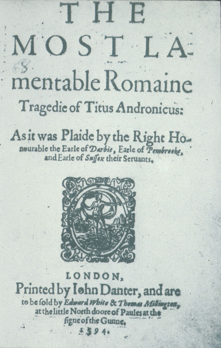 shakespearean texts titus andronisexist essay