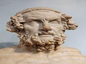 اغريقي صاحب كتاب الالياذة والاوديسة