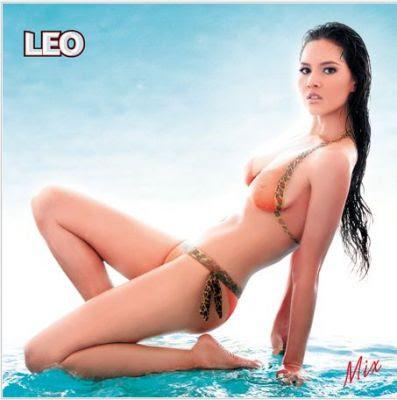 Thailand Leo Body Paint Calendar 2010