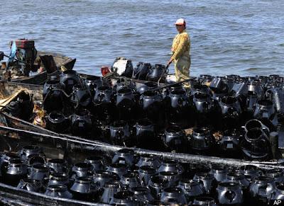 Yellow Sea Oil Spill