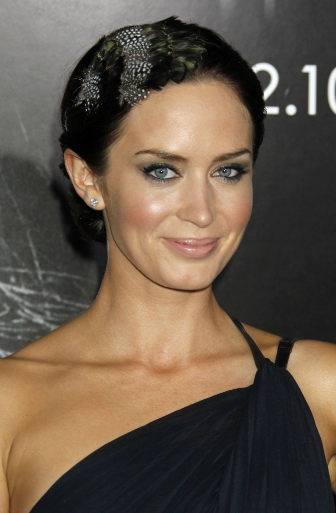 Emily Blunt Entering 'engagement Games'